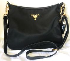 prada small nylon shoulder bag - replica prada luggage
