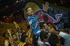 #LeviSherwood vyhrál první závod sezóny Red Bull X-Fighters v Mexiku. Druhé místo bral #JoshSheehan a třetí #DanyTorres... #LiborPodmol si na své konto připsal 20 bodů za deváté místo...  KOMPLET #XFighters SHRNUTÍ TADY: http://extrememag.cz/levi-sherwood-vyhral-x-fighters-v-mexiku/