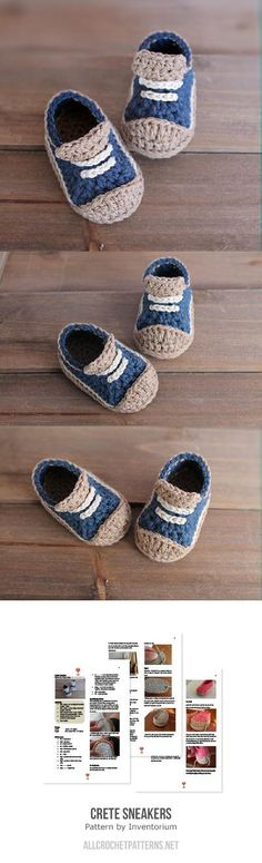 Crete Sneakers Crochet Pattern