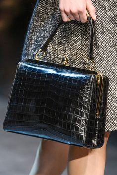 "The Bag of The ""Saint Woman"" by Dolce & Gabbana, Milan Fashion Week A/W 2013/2014."