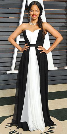 Old Hollywood glamour in Atelier Versace on the Oscars red carpet. Old Hollywood glamour in Prabal Gurung at the Vanity ...