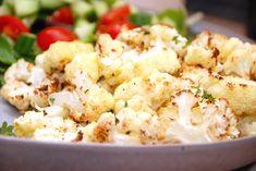 Bagt blomkål - sådan bager du blomkål i ovnen - Madens Verden Recipes From Heaven, Potato Salad, Cauliflower, Side Dishes, Potatoes, Healthy Recipes, Healthy Food, Vegetables, Ethnic Recipes
