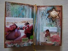 Altered book journal.