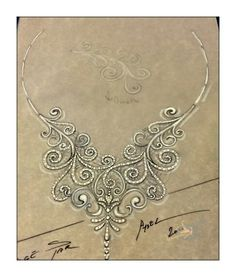SHARR design.Bilge ŞAR Aysel jewellery sketch