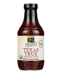 Best BBQ Sauce: 365 Everyday Value® Organic Texas True Barbecue Sauce Best Grill Recipes, Barbecue Recipes, Barbecue Sauce, Grilling Recipes, Whole Food Recipes, Cooking Recipes, Whole Foods 365, Best Bbq, Grilled Salmon