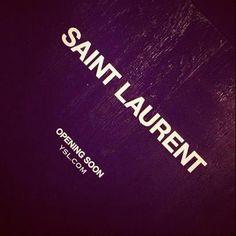 Yves Saint Laurents new branding