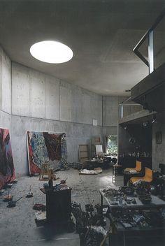 Artist studio by Japanese Architect Kazuo Shinohara
