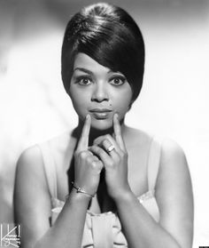 Tammi Terrell (born Thomasina Winifred Montgomery in Philadelphia,Pa. April 1945 – March was an American recording artist, best known as a star singer for Motown Records during the most notably for a series of duets with singer Marvin Gaye. Music Icon, Soul Music, Indie Music, Jazz Music, Rock Roll, Tammi Terrell, Vintage Black Glamour, Only Play, Marvin Gaye