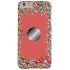 floral classic design barely there iPhone 6 plus case