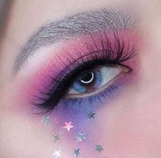 Pretty Bunny — Make up 🦄 Makeup Eye Looks, Eye Makeup Art, Eyeshadow Makeup, Makeup Inspo, Beauty Makeup, Eyeshadows, Makeup Eyes, Eyebrow Makeup, Kawaii Makeup
