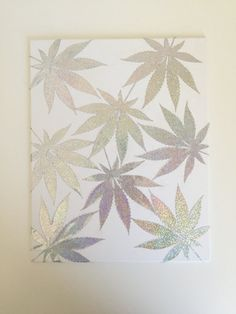 Hey, I found this really awesome Etsy listing at https://www.etsy.com/listing/448770414/iridescent-leaf-cannabis-art-marijuana
