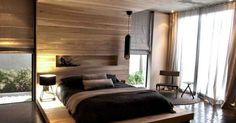 Wow. Love everything about this bedroom. Aupiais House by Site Interior Design Modern Contemporary