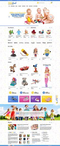 Kids Land - CS-Cart Children Store Theme - eCommerce | ThemeForest