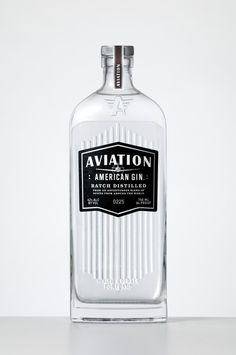 Packaging of the World: Creative Package Design Archive and Gallery: Aviation Gin