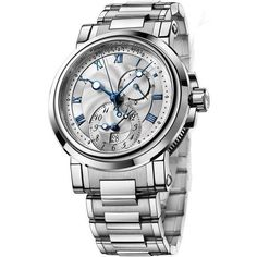 Breguet Marine Automatic Dual Time 5857st/12/sz0 Watch ($21,484) ❤ liked on Polyvore featuring men's fashion, men's jewelry, men's watches, stainless steel, mens dual time watches, mens stainless steel watches and engraved mens watches #men'sjewelry