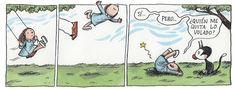 Humor Grafico, Good Notes, Calvin And Hobbes, Illustrators, Comics, World, Spanish, Siri, Picture Quotes