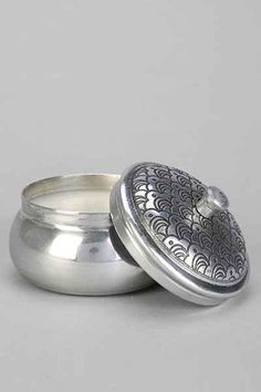 Boho Embossed Tin Candle - Urban Outfitters $15