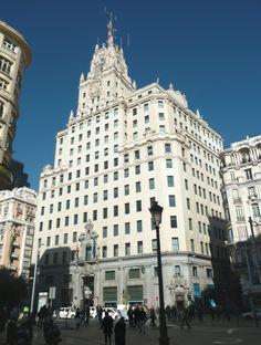 Telefónica, Madrid, Spain | Description Edificio Telefónica (Gran Vía 28, Madrid) 03.jpg