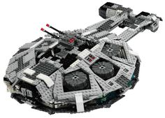 Outrider - Alternate model from 6211 Imperial Star Destroyer - Come visit us at www.hothbricks.com, www.lordofthebric... & www.brickheroes.com for up to date news about LEGO stuff