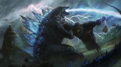 Godzilla vs. Kong (2020), I'm really hype for this movie since 1962's King Kong vs. Godzilla.