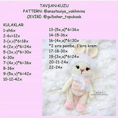 Wonderful Crochet Bag Anyone Can Make Amigurumi Toys, Amigurumi Patterns, Crochet Toys, Knit Crochet, Workshop, Crochet Accessories, Up Hairstyles, Free Pattern, Teddy Bear