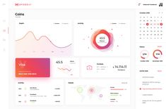 png by Art Lemon Web Dashboard, Dashboard Design, Ui Design, Web Application, Data Visualization, User Interface, Branding, Activities