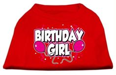Birthday Girl Screen Print Shirts Red Med (12)