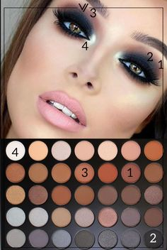 Morphe - 35 Color Koffee Eyeshadow Palette 35K kp