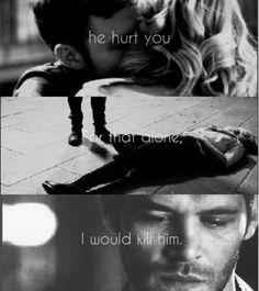 """...I would kill him."" # klamille"