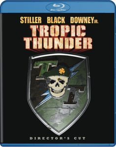 Tropic Thunder (2013) ($7.98) http://www.amazon.com/exec/obidos/ASIN/B00AEBBAF4/hpb2-20/ASIN/B00AEBBAF4 Ben Stiller,Robert Downey Jr,and especially Tom Cruise are great. - I've watched this movie quite a few times and it still makes me laugh. - When Ben Stiller flings Half-Squat and the child crawls out of the river and crosses his arms, I thought I would die laughing.