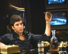 Scarface... I remember when Pacino didn't have to yell to deliver good acting...