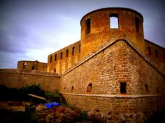 The ruins of Borgholm Castle, Oland, Sweden