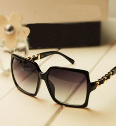I8 2013 sunglasses women's Gp repair fashion big black glasses freeshipping $8.49