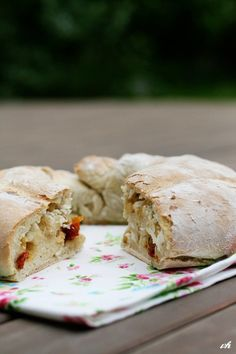 Filled Tortano bread