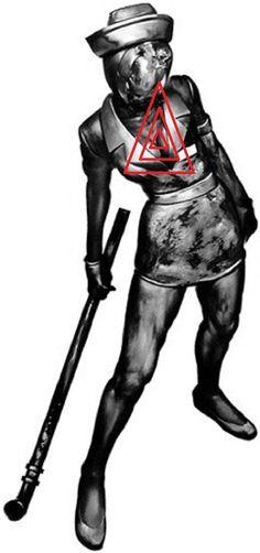 Silent Hill nurse target