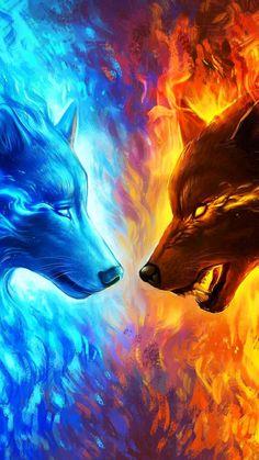 Арты  Кто хочет просто посмотреть на красивые арты, то вам сюда.  Это… #разное # Разное # amreading # books # wattpad Fantasy Wolf, Dark Fantasy Art, Animation Storyboard, Manga Drawing Tutorials, Flame Art, Phoenix Art, Wolf Wallpaper, Anime Wolf, Fire And Ice