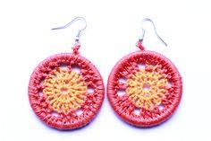 mataza mataza on Etsy Crochet Earrings, Etsy Seller, Create, Unique, Ear Jewelry, Handmade, Crocheting