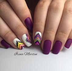 Cute Nail Art Designs, Spring Nail Trends, Spring Nails, Dope Nails, Fun Nails, Indian Nails, Rainbow Nail Art, Latest Nail Art, Flower Nail Art