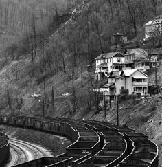 1974 Welch, WV is one of the towns in the amazing biography, The Glass Castle, by Jeannette Walls Virginia Hill, West Virginia History, Virginia Mountains, Appalachian People, Appalachian Mountains, West Va, Glass Castle, Norfolk Southern, Abandoned Places