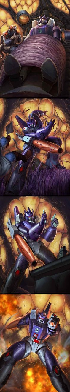 TRANSFORMERS LEGENDS GALVATRON by manbu1977