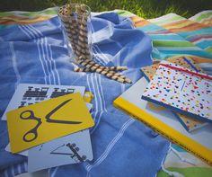 summer time active book  zeszyt do zabaw - lokomotywa   Papierówka