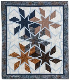 Amazingly Simple Triangle Stars: Deceptively Easy Quilts from One Block by Barbara H. Cline