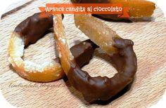 Scorzette d'arancia candite al cioccolato