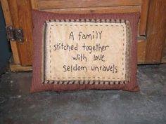 Primitive Family Pillow