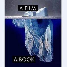 由小说改编的电影,表现的只是原著的冰山一角。