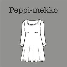Free PDF pattern by Kangaskapina. Sewing Hacks, Sewing Tutorials, Sewing Tips, Sewing Ideas, Sewing Patterns Free, Free Pattern, Hobbies And Crafts, Diy Clothes, Types Of Shirts