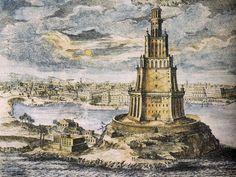 El Faro de Alejandría fue una torre construida en el siglo III a. C. (entre los años 285 y 247 a. C.) en la isla de Faro en Alejandría, Egipto, para servir como punto de referencia del puerto y como faro. Con una altura estimada entre 115 y 150 metros. Fue una de las estructuras hechas por el hombre más altas durante muchos siglos, y fue identificada como una de las Siete maravillas del mundo por Antípatro de Sidón. Sería derribado por los efectos de un terremoto a principios del siglo XIV.