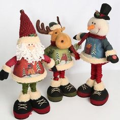 Image of Battery Operated Christmas Characters with Extendable Legs