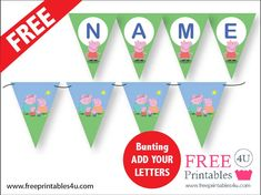 Peppa Pig | Free Printables 4 U