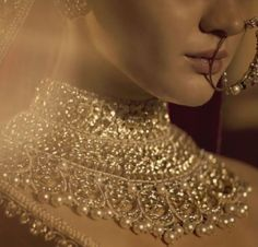 Bridal Jewelry The Gulkand Collection Video Courtesy: Sabyasachi Indian Jewelry Sets, Indian Wedding Jewelry, Royal Jewelry, India Jewelry, Bridal Jewelry Sets, Gold Jewelry, Bridal Jewellery, Bridal Necklace, Diamond Jewellery